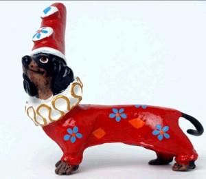 Dachshund Clown-Dogs - Dachshunds