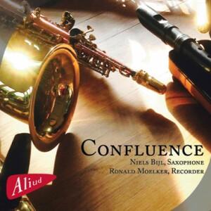 Confluence - Ronald Moelker, recorded - Niels Bijl, saxophone-Saxophone-Baroque
