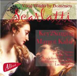 Vocal Works by Domenico Scarlatti - Key2Singing-Voices-Baroque