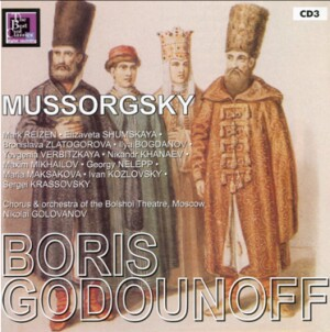 Mussorgsky - Boris Godunov - Choir and the Orchestra of the Bolshoi Theatre - N. Golovanov-Voices and Orchestra-Opera Collection