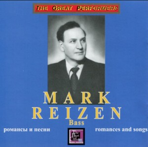 Mark Reizen, bass - Romances & Songs - Varlamov - Glinka - Rimsky-Korsakov and etc...-Vocal and Piano-Songs and Romances
