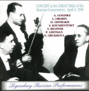 Concert in memory of KONSTANTIN IGUMNOV, April 4th 1949-Vocal and Piano-Concertos