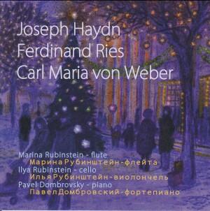 M.Rubinstein - I.Rubinstein - P.Dombrovsky - Haydn - Ries - Weber-Trio