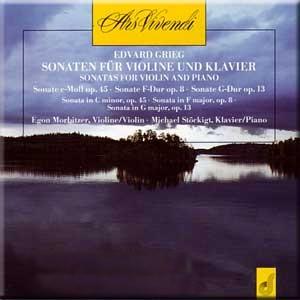 Grieg - Sonaten fur Violine und Klavier-Violin