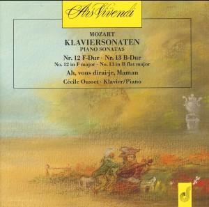 W. A. Mozart- Piano Sonatas - Cécile Ousset, piano-Piano-Chamber Music