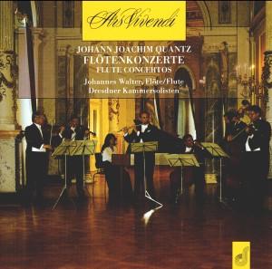J. J. Quantz - Flute Concertos  - Johannes Walter, Dresdner Kammersolisten-Chamber Ensemble-Chamber Music