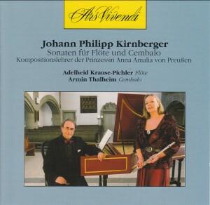 J.P. Kirnberger - Sonaten für Flöte und Cembalo (Sonatas for Flute and harpsichord)-Flute