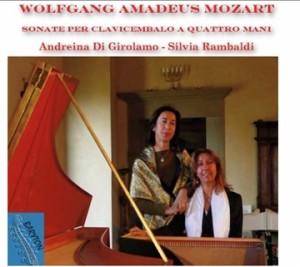 W.A.Mozart - Sonate per Clavicembalo a quattro mani-Harpsichord-Chamber Music