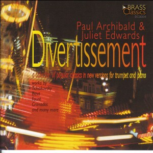 Divertissement -Paul Archibald and Juliet Edwards-Trumpet