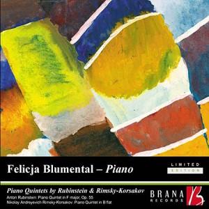 Piano Quintets by Rubinstein and Rimsky-Korsakov-Quintet-Chamber Music