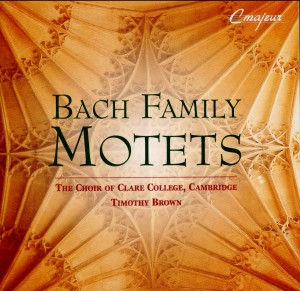 Bach Family Motets-Choir-Choral Collection