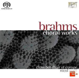 Brahms - Choral Works - Nicol Matt-Choir-Choral Collection