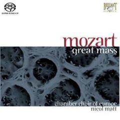 Mozart - Great Mass / J. S. Bach - Chorale - Chamber Choir of Europe -Nicol Matt-Choir-Choral Collection