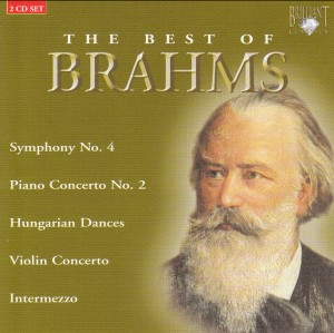 The Best of Brahms (2 CD Set)-Chamber Ensemble-Chamber Music