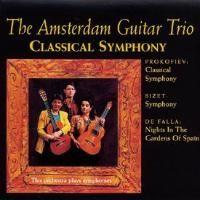 THE AMSTERDAM GUITAR TRIO Classical Symphony