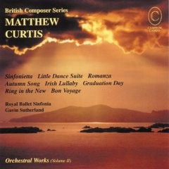 Matthew Curtis - Orchestral Works Vol 2-Orchestra-British Composer Series