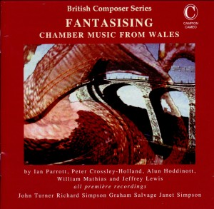 FANTASISING - Chamber Music from Wales-British Composer Series