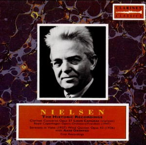 Carl Nielsen - The First Recordings-Music for Clarinet-Enregistrement historique