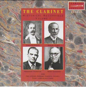 Historical Recordings - Volume 1-Music for Clarinet