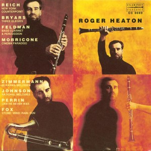 Roger Heaton: Clarinet Recital-Music for Clarinet