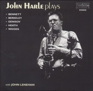 J.Harle - Plays Bennett, Berkeley, Denisov, Heath, Woods with J.Lenehan-Saxophone