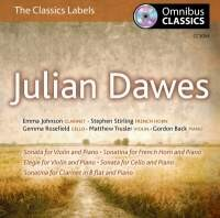 Julian Dawes - Chamber Works-Piano and Cello