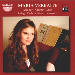 Maria Verbaite, piano: Works by Schubert, Chopin, Liszt, Grieg, Rachmaninov and Balakirev-Piano-New Talents