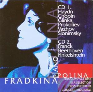 Haydn - Slonimsky - Prokofiev - Glinka - Chopin - Polina Fradkina, piano-Piano-Chamber Music