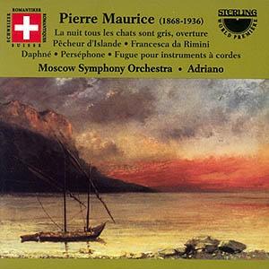Maurice, Pierre - La nuit tous les chats sont gris, Overture to the comic opera Op. 35, etc...-Romantic Music
