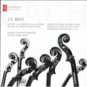 J.S. BACH CONCERTOS - London Conchord Ensemble & Florian Uhlig, piano-Piano