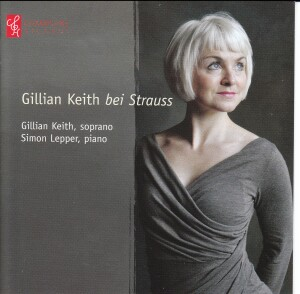 Gillian Keith bei Strauss - Gillian Keth, soprano - Simon Lepper, piano-Vocal and Piano-Vocal Collection