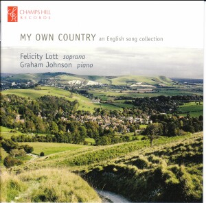 MY OWN COUNTRY - An English song collection - Felicity Lott - Graham Johnson-Vocal and Piano-Vocal Collection