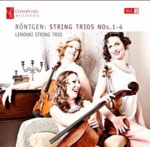 Röntgen - String Trios Nos.1-4 - Lendvai String Trio-String instruments