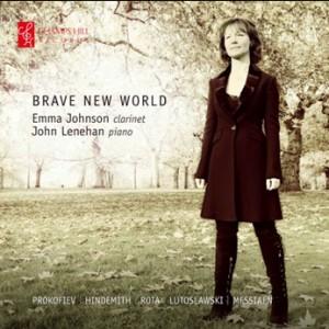 Brave New World - Emma Johnson, clarinet - John Lenehan, piano -Piano and Clarinet-Instrumental