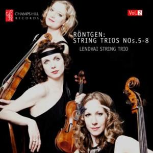 Röntgen - Complete String Trios Vol.2 - Lendvai String Trio-String instruments