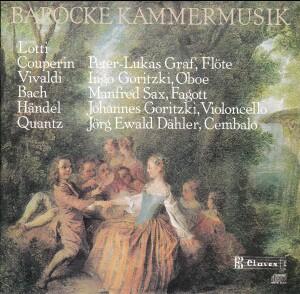 BAROQUE CHAMBER MUSIC - GRAF - GORITZKI - SAX - DÄHLER-Flute-Baroque