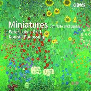 Miniatures For Flute and Guitar - P.-L. Graf, flute - K. Ragossnig guitar-Flute