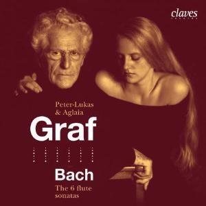 BACH - Five Authentic Flute Sonatas: Peter-Lukas Graf - Aglaia Graf-Flute-Baroque