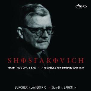 Dmitri Shostakovich - Piano Trios Opp. 8 & 67 / 7 Romances for Soprano & Trio - Zürcher Klaviertrio-Voices