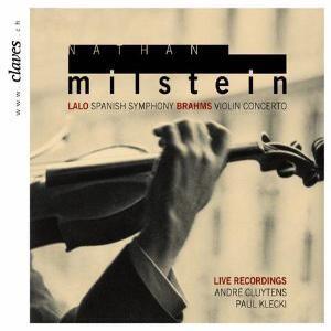 Nathan  Milstein - Lalo - Symphonie Espagnole - Brahms - Violin Concerto-Orchestra