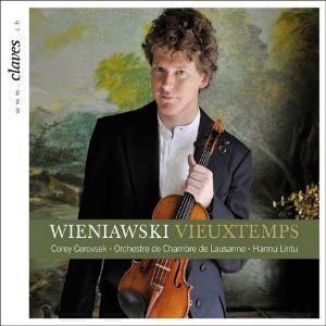 Vieuxtemps - Wieniawski - Violin Concertos - Hannu Lintu - Corey Cerovsek-Violin