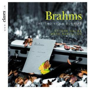 BRAHMS - Causa - Pantillon - The 2 Viola Sonatas - Lieder for Viola and Piano-Piano