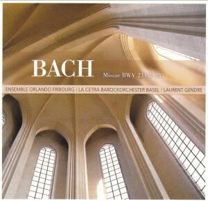 Ensemble Orlando - J.S. Bach - Masses BWV 234 & 235 - La Cetra Barockorchester-Baroque