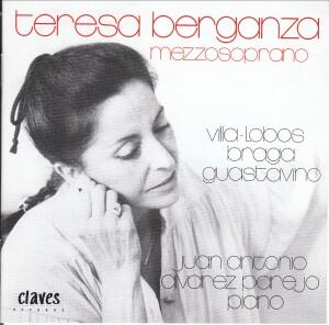 Villa-Lobos - Braga - Guastavino - Teresa Berganza, mezzosoprano-Vocal and Piano-Vocal Collection