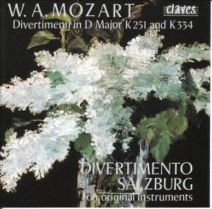 Mozart - Divertimenti K.251 and K.334 - Divertimento Salzburg in original instruments-Quartet-Chamber Music