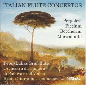 Italian Flute Concertos - Graf - Orchestra Da Camera Di Padova - Giuranna -Flute