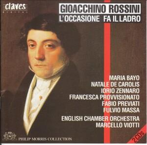 Rossini - L'Occasione fa il Ladro - Soloists - Eco - Viotti-Voices and Orchestra-Vocal Collection