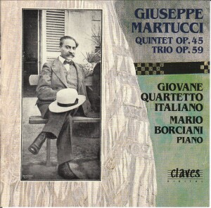 Giuseppe Martucci - Giovane Quartetto Italiano-Quartet