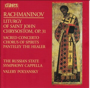 Rachmaninov - Works For Chorus - RSSC - Polyansky-Choir-Sacred Music