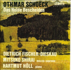 Schoeck - Das Holde Bescheiden - Fischer-Dieskau - Shirai - HOLL-World Premiere Recording